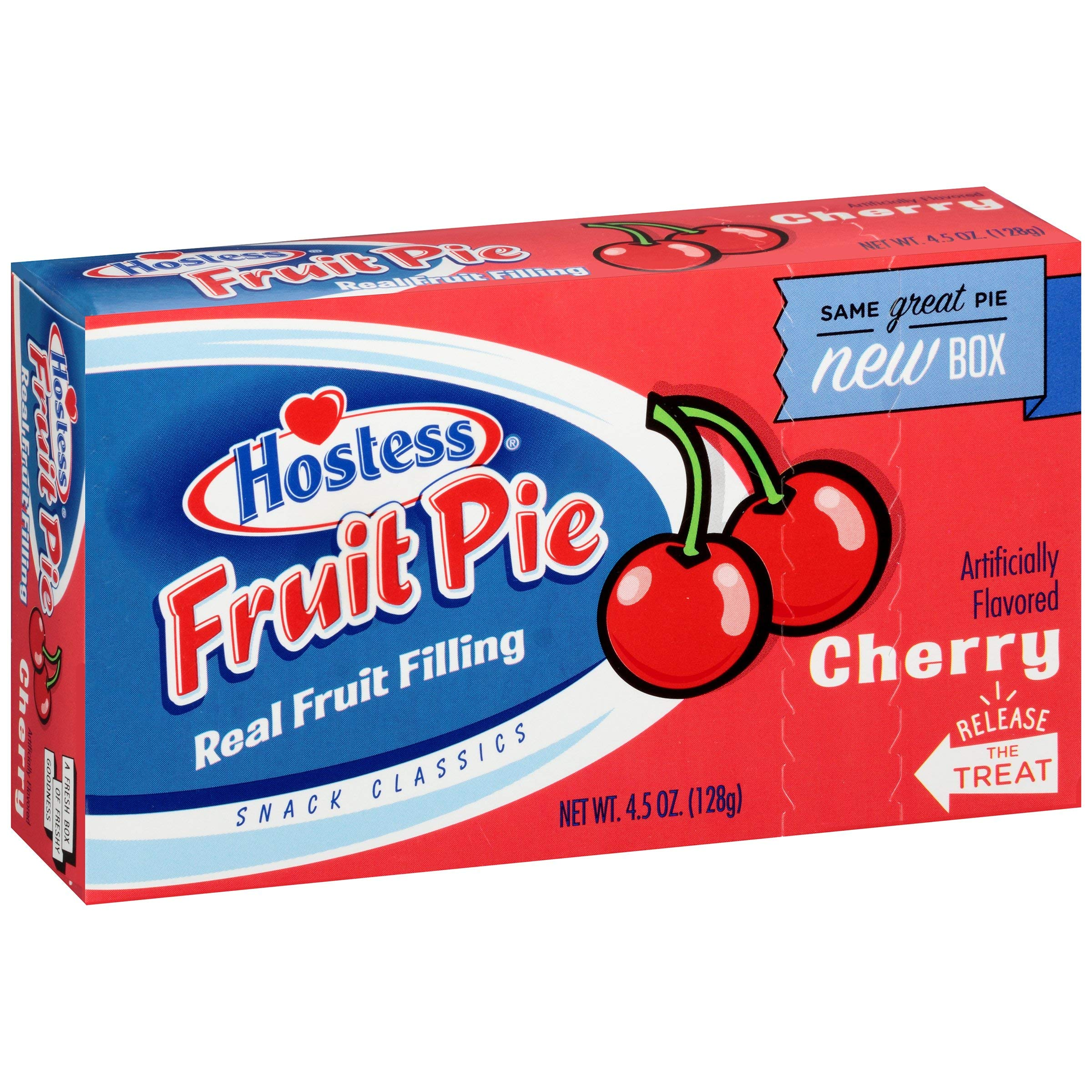Hostess Cherry Fruit Pies 4.5 oz (Pack of 8) by Hostess