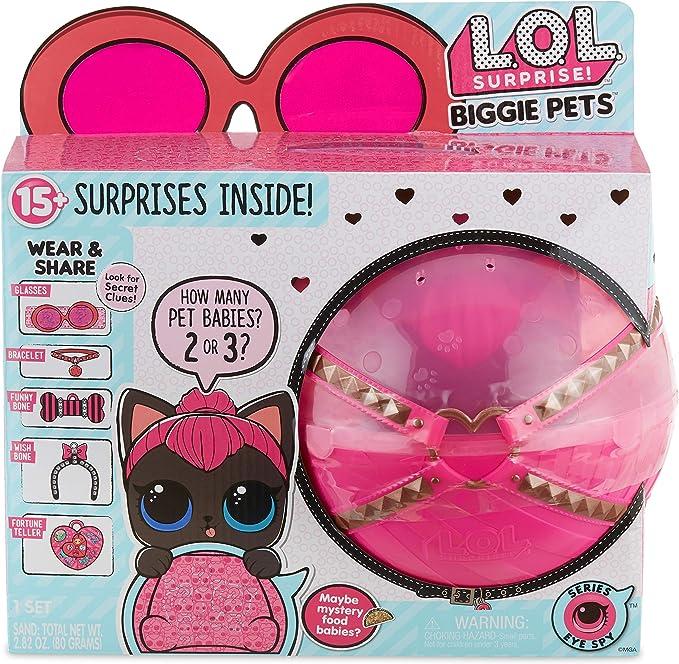 L.O.L. Surprise! Biggie Pet - Spicy Kitty