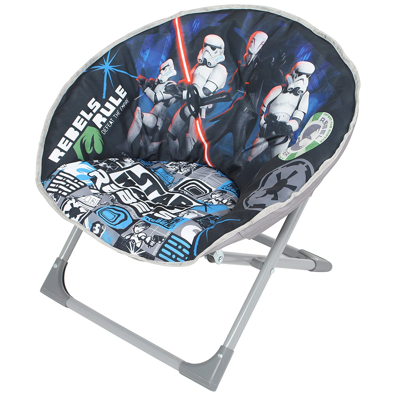 Disney Moon Chair Star Wars Fabric Grey Amazon Kitchen