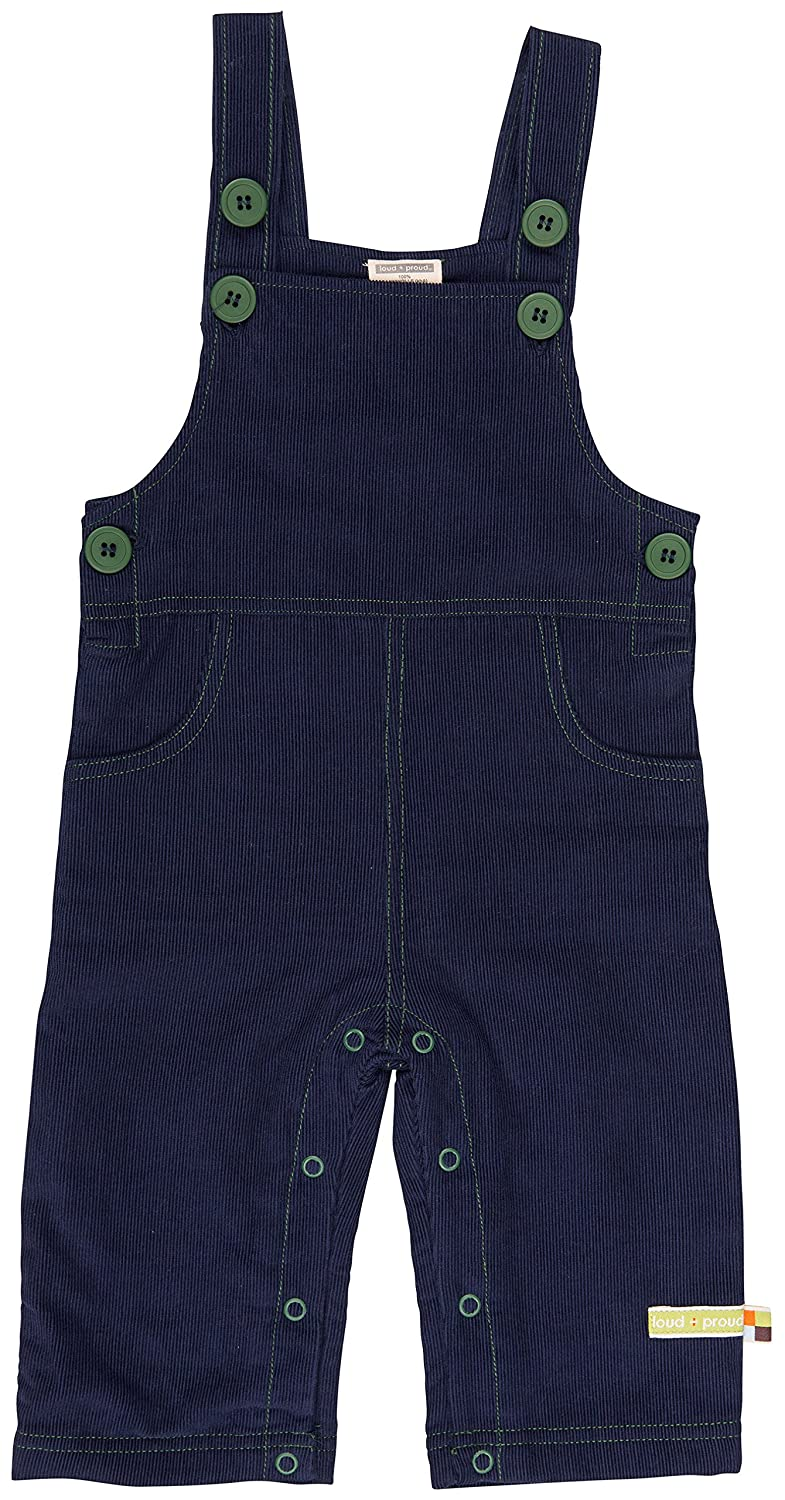 loud + proud Baby Latzhose Cord Overalls Loud and Proud 4018