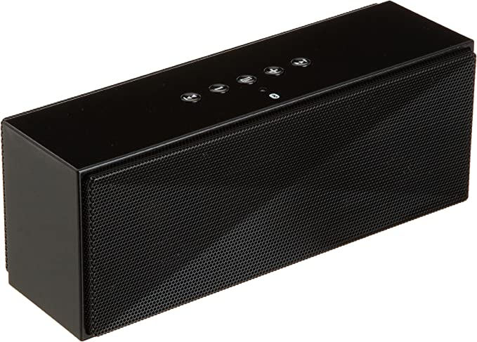 Amazon Basics Wireless Bluetooth Dual 10W Speaker with Built-in Microphone -  Black