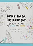 Dear Data Postcard Kit: For two friends to draw and share (Postcards)
