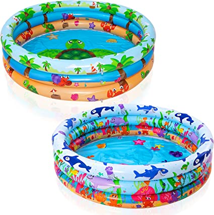 Pool Swimming Tube Rings Floats Swim Aid Inflatable Kids Outdoor Summer Fun