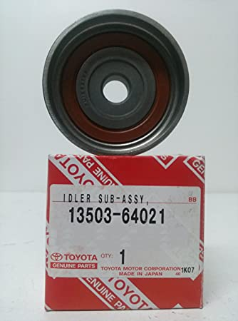 Amazon.com: Genuine Toyota Parts - Idler S/A, Timing (13503-64021 ...