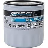 Quicksilver Filtro de óleo para montagem em bloco de motor 883702Q – motores de transmissão de popa MerCruiser V-6