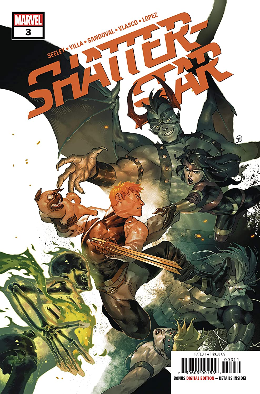 Shatterstar #3 (Marvel, 2019) NM