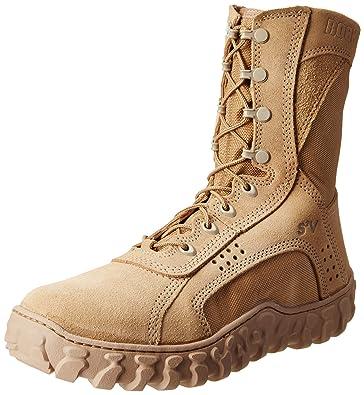 Rocky Men's 8 Inch S2v 101 Work Boot,Desert Tan,4 ...