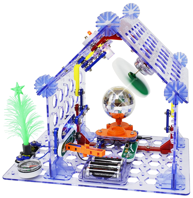 Snap Circuits 3d Meg Electronics Discovery Kit Amazoncom Sound Toys Games