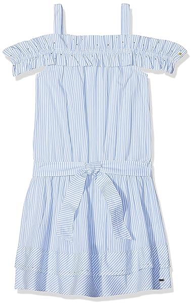 Mayoral 6960, Vestido para Niñas, Azul (Nube 19), años (Tamaño