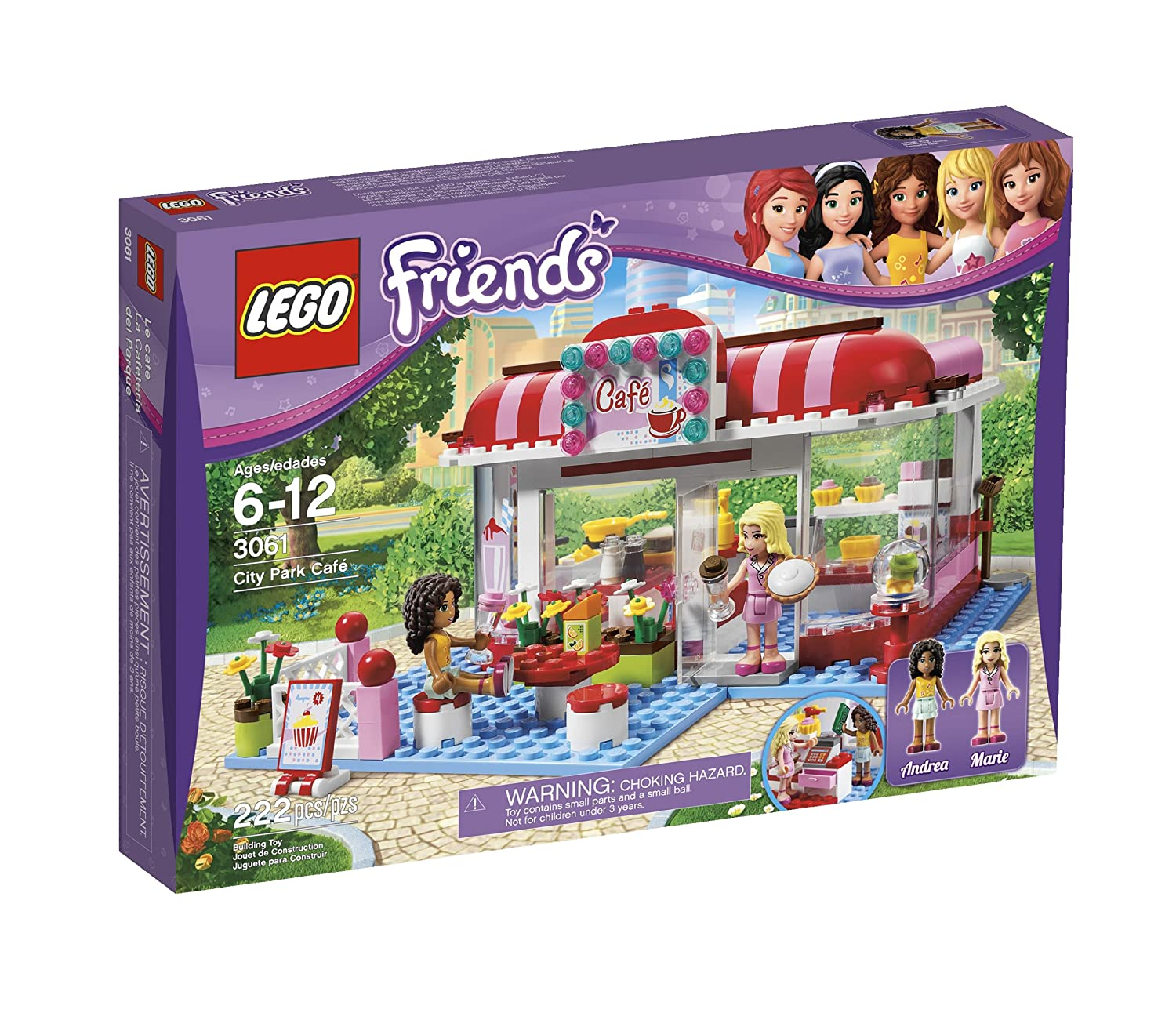 Amazon Lego Friends City Park Cafe 3061 Discontinued By