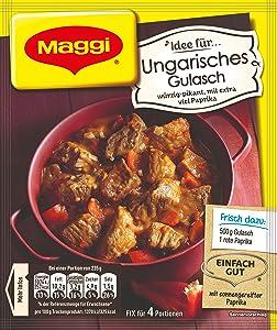 Maggi fix Ungarisches Gulasch - Hungarian Goulash 45g (Pack of 4)