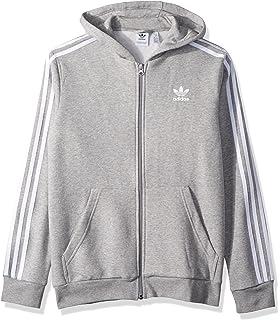 e7a8b72aa Amazon.com: adidas Originals Boys' Authentics Hoodie: Clothing
