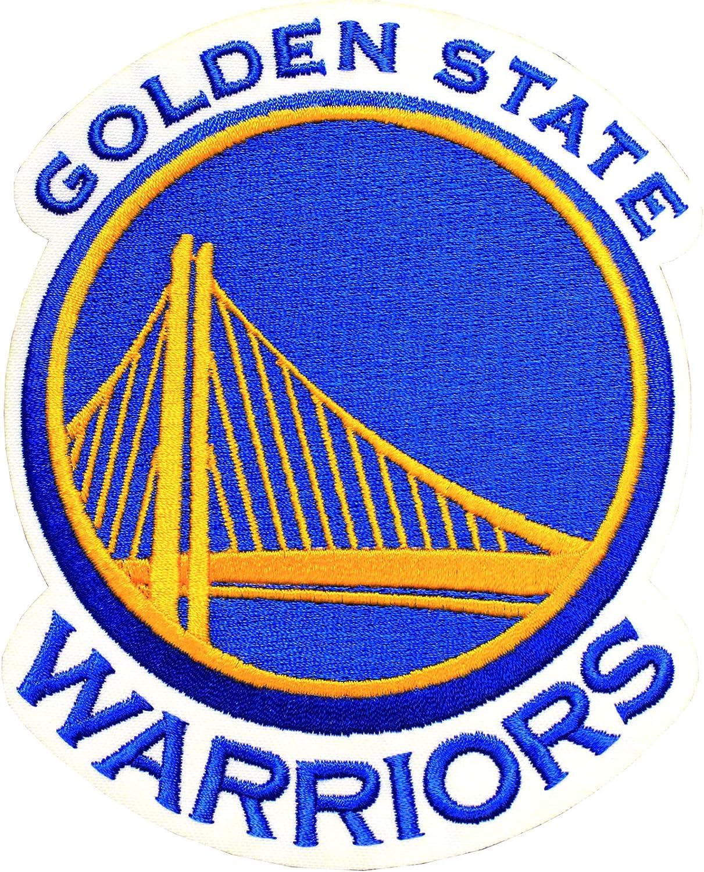 Amazon Com Official Golden State Warriors Logo Large Nba