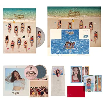 TWICE 2nd Special Album - SUMMER NIGHTS [ B Ver  ] CD + Photobook +