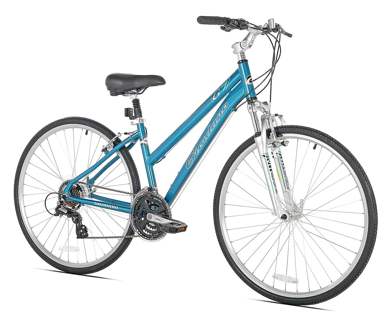 Giordano G7 Women S Hybrid Bike One Size 17