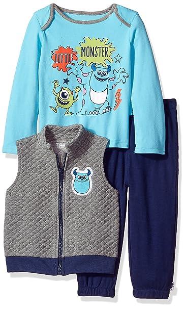 Amazon.com: Disney Baby Boys Monsters Inc 3 piezas chaleco ...