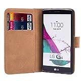 32nd Floral Design Leather Wallet Case for LG