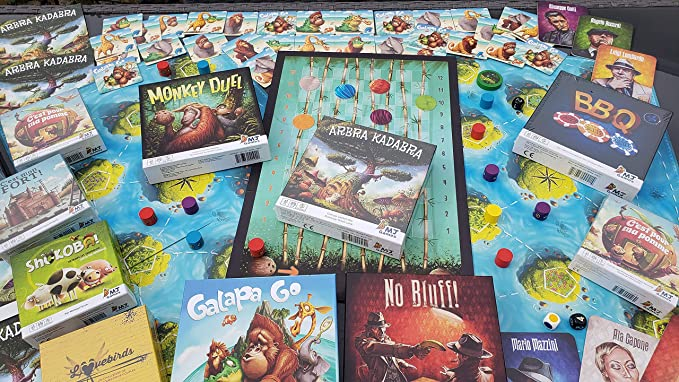 Asmodee Juego de Tarjeta, Game Over Deluxe, KG32DEL: Amazon.es: Juguetes y juegos