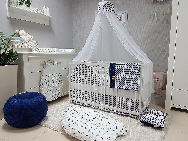 Babymajawelt® baby bettwäsche set bett set 5 teile voile fürs