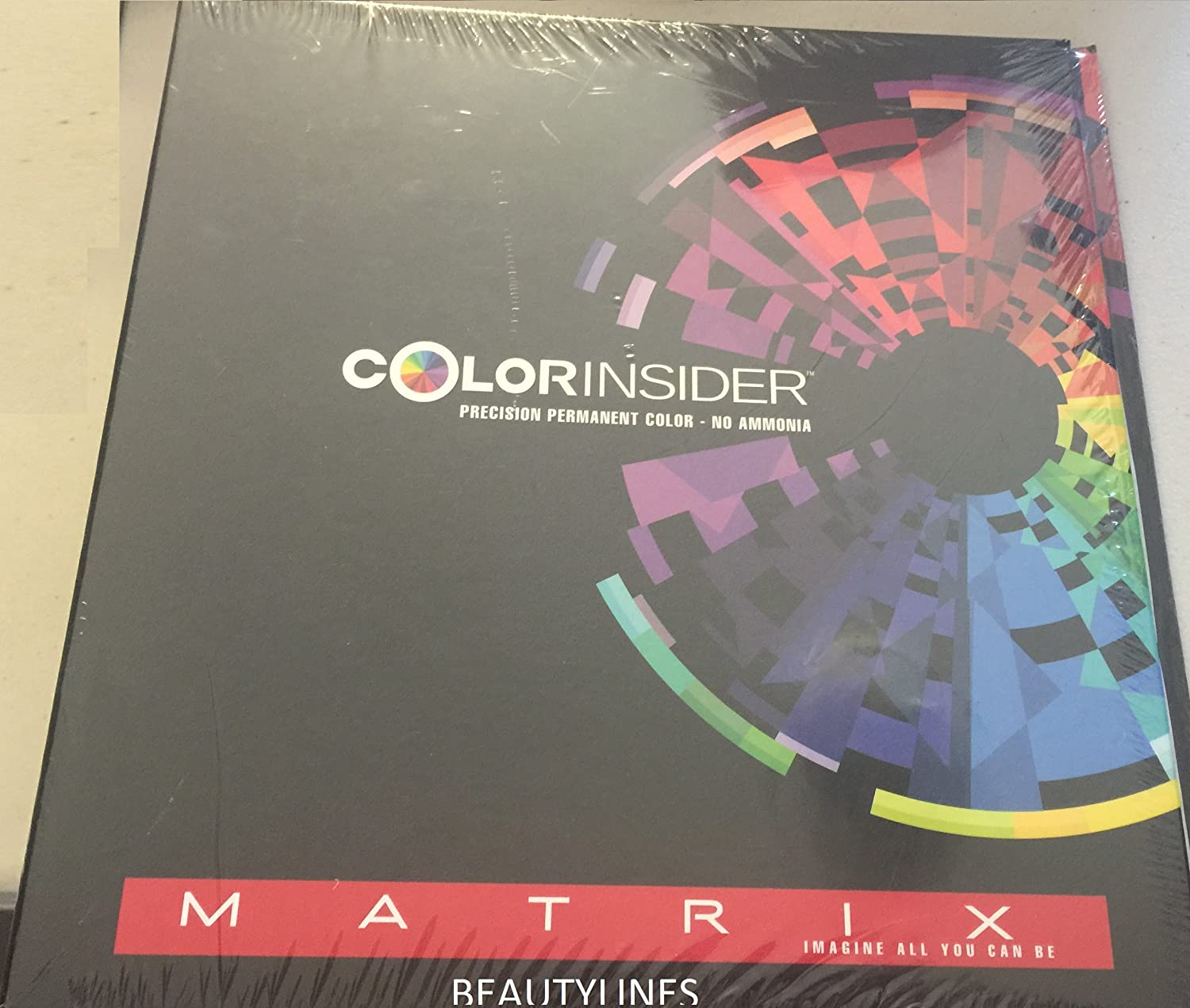 Matrix colorinsider swatch book coloring page com matrix colorinsider precision permanent color no geenschuldenfo Images