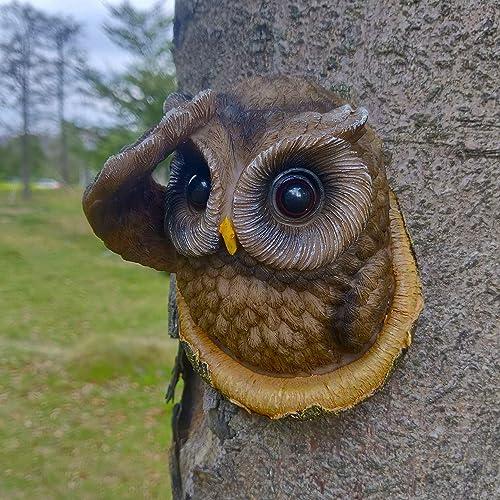 Juegoal Owl Tree Hugger