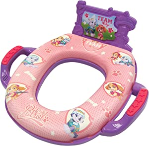 "Nickelodeon Paw Patrol ""Team Skye"" Deluxe Potty Seat with Sound"
