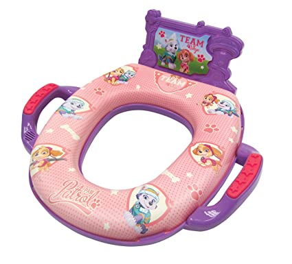 Super Nickelodeon Paw Patrol Team Skye Deluxe Potty Seat With Sound Ncnpc Chair Design For Home Ncnpcorg