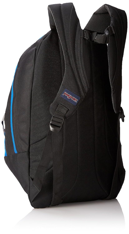 Amazon.com: JanSport Trinity Backpack (Black/Blue Streak): Sports ...