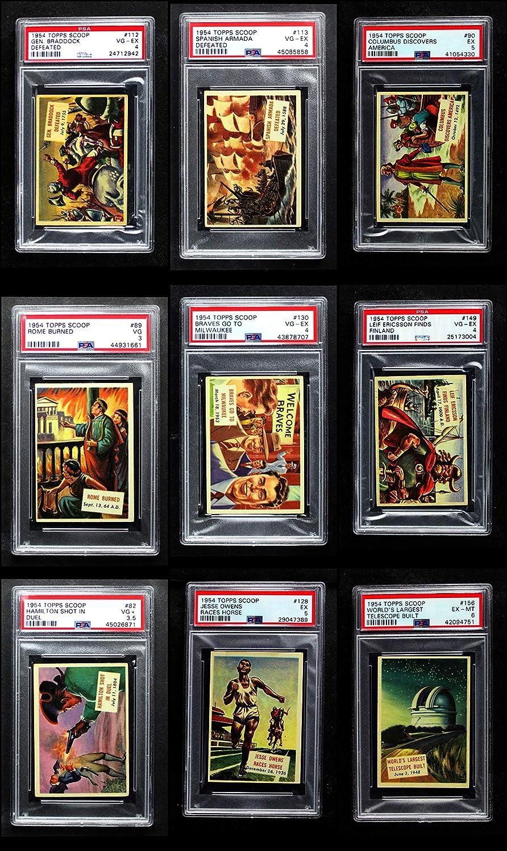 1954 Topps Scoop Complete Set (Card) Dean's Cards 4 - VG/EX 91k4dyNHxDLSL1500_