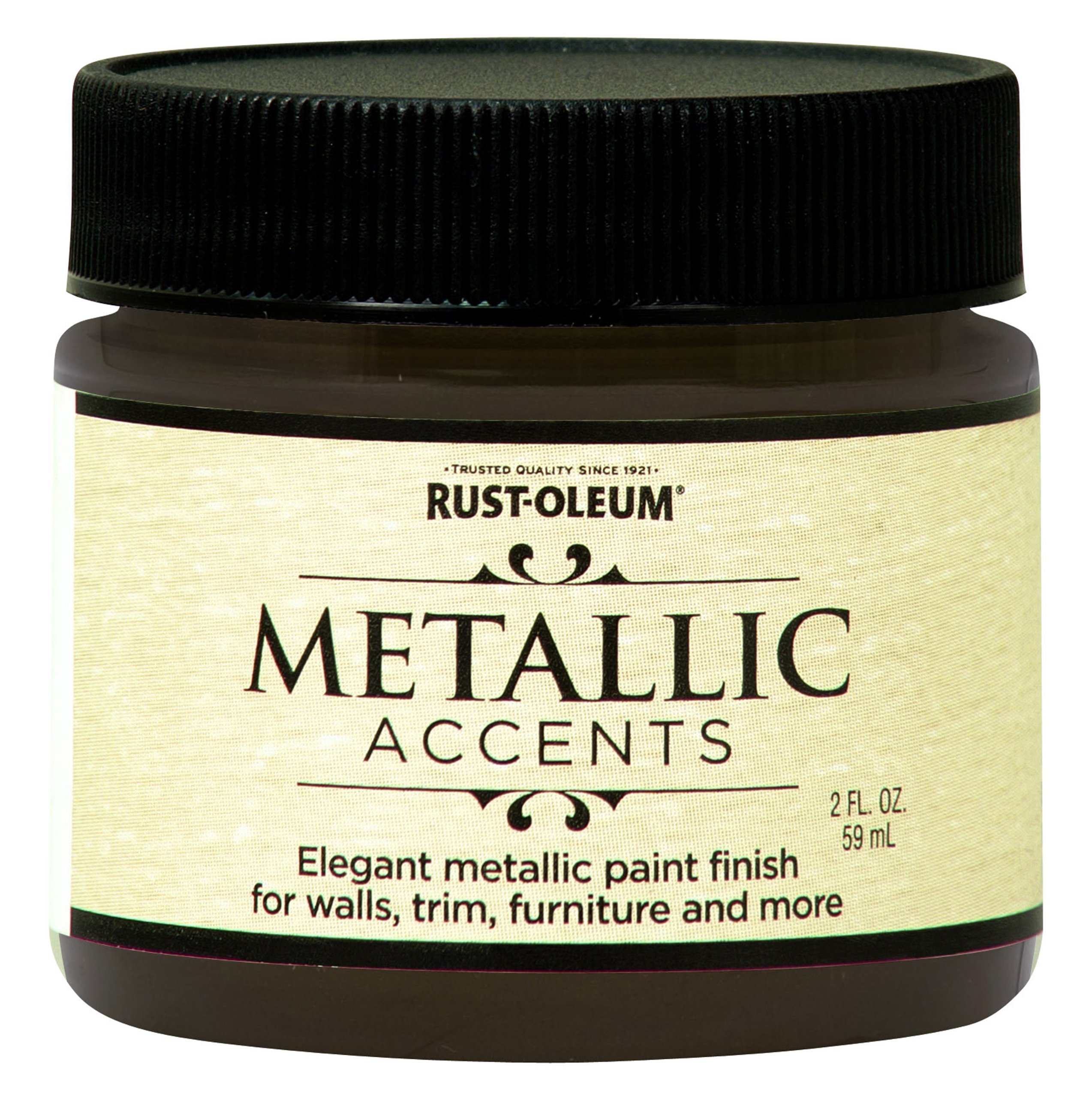 Rust-Oleum 255332 Metallic Accents Paint, 2 oz Trial Size, Classic Bronze by Rust-Oleum