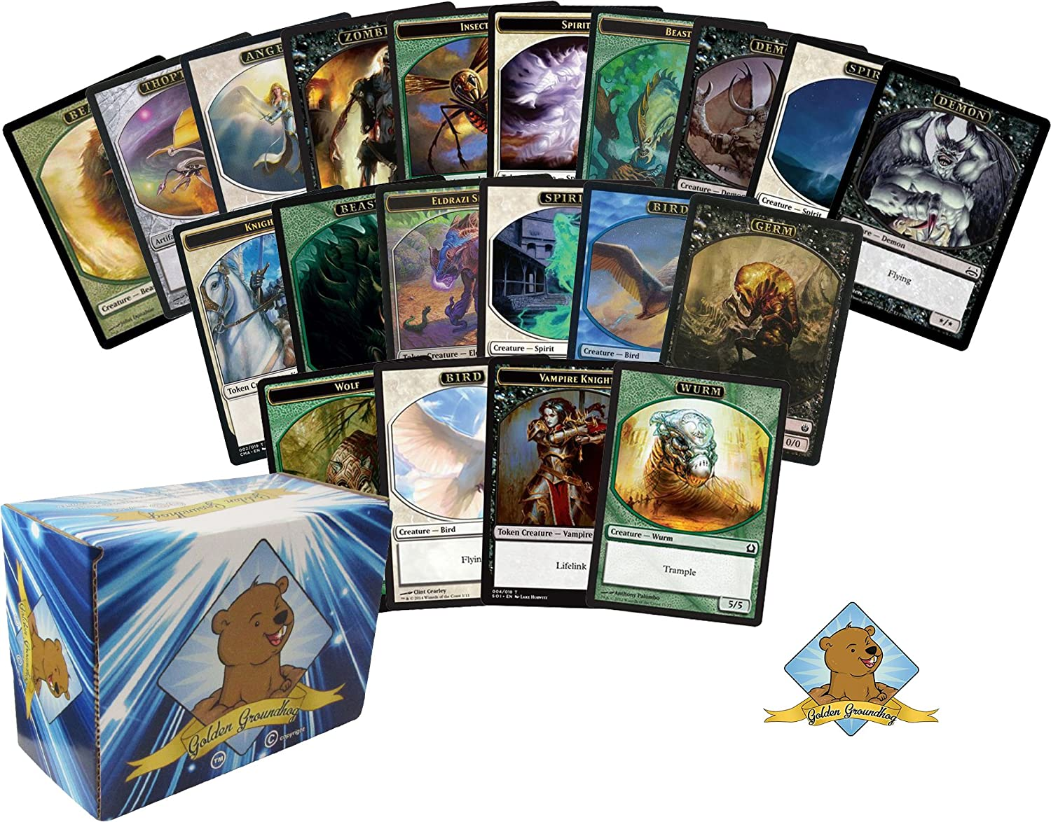 Magic the Gathering Wholesale Tokens Lot of 100 MTG Random