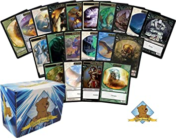 Mtg Magic The Gathering Lote 100 cartas de Tokens.: Amazon ...