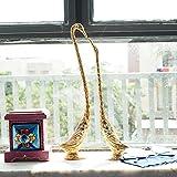 eCraftIndia Loving Swan Couple Meenakari Figurine