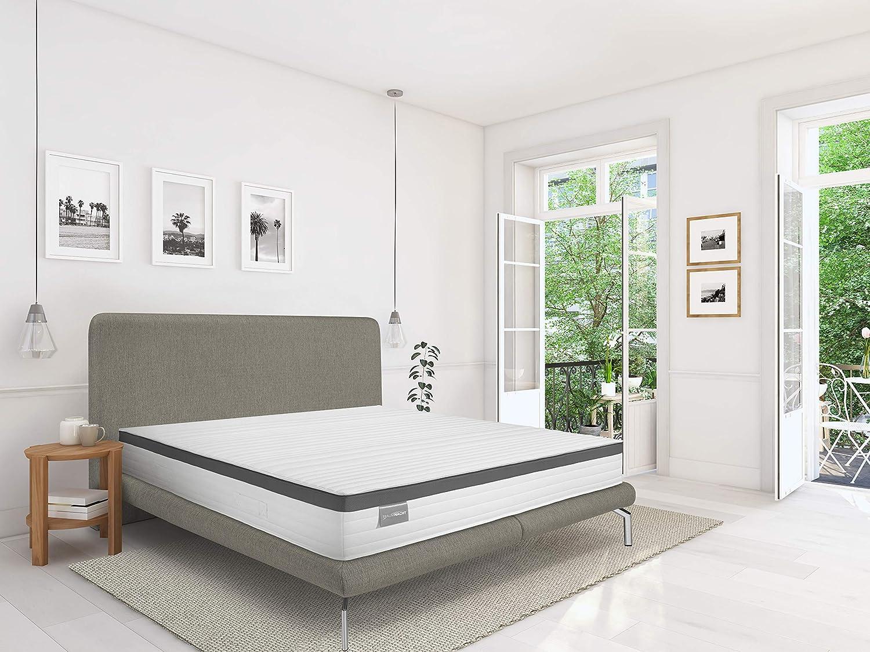 Durezza 3 Traumnacht Exklusiv Bianco 120 x 200 cm 1000 Molle insacchettate materasso
