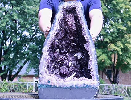 Amazon com: Cosmic Cuts Amethyst Geode Cathedral 23 00