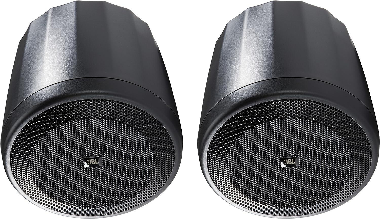JBL Professional C62P Ultra-Compact Mid-High Satellite Hanging Pendant Speaker, Black, Sold as Pair