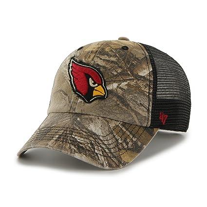 73d897300 Amazon.com   NFL Arizona Cardinals  47 Huntsman Closer Camo Mesh ...