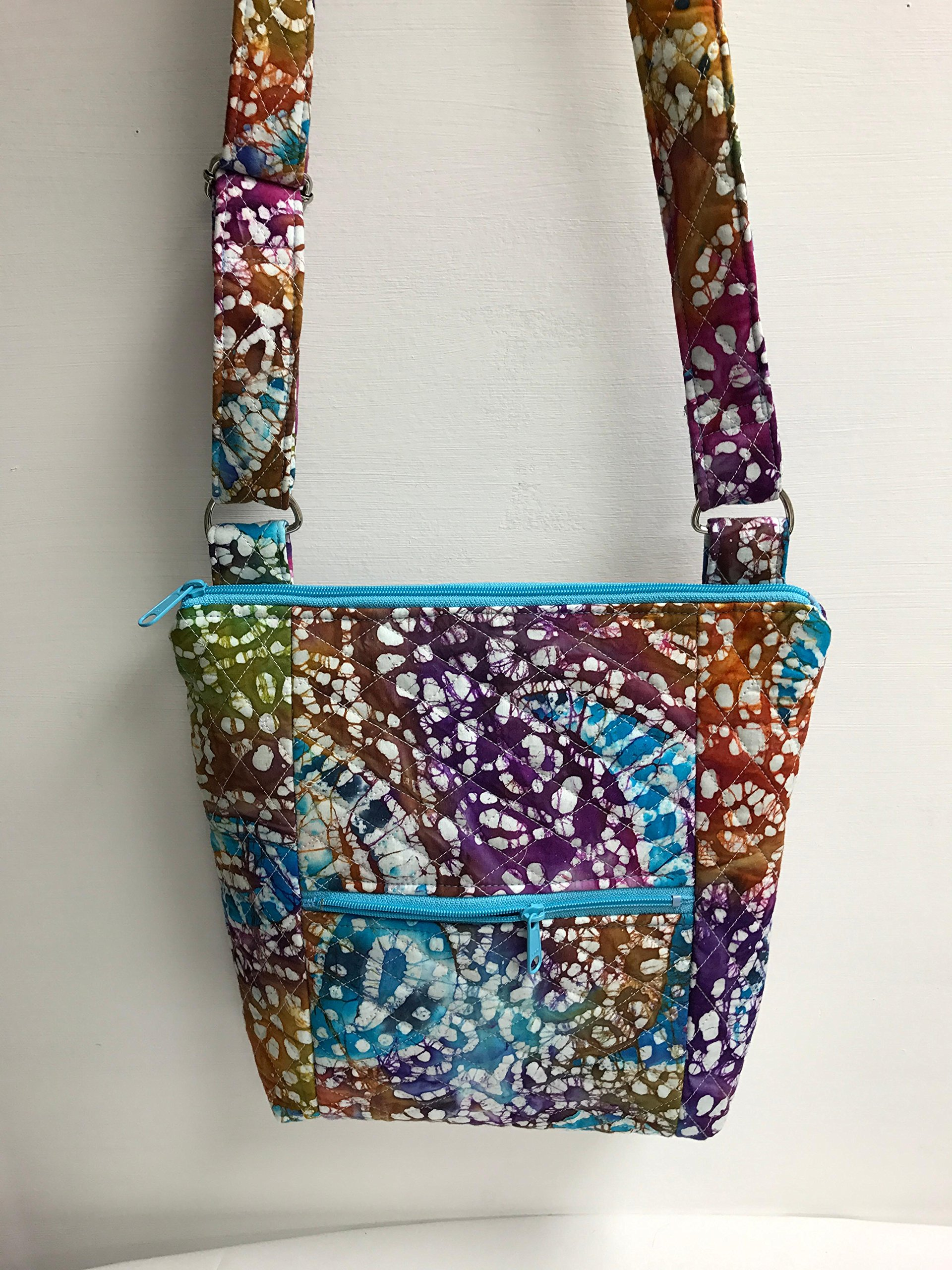 The Paisley Hipster Crossbody Adjustable Strap Purse