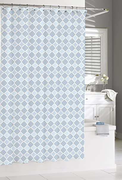 Image Unavailable Not Available For Color Kassatex Marrakesh Shower Curtain French Blue