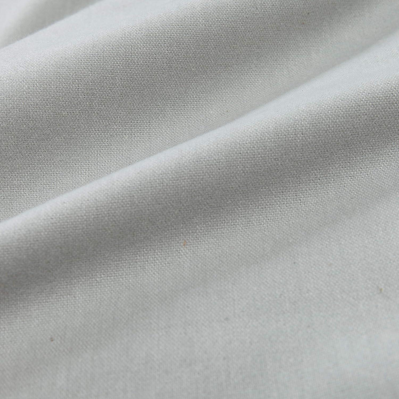 Kissenh/ülle Helles Mauve mit Melange-Effekt 100/% Reine Bio-Baumwolle 80 x 40 cm Flanell-Bezug Kissenbezug URBANARA Flanell-Kissenbezug Vilar