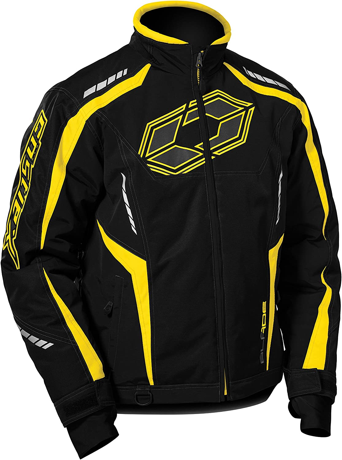 Castle X Blade G3 Mens Snowmobile Jacket - Yellow (3XL)