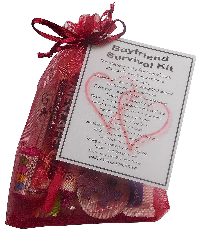 Boyfriend Valentineu0027s Survival Kit Gift (Great Novelty Present For Valentineu0027s  Day): Amazon.co.uk: Kitchen U0026 Home