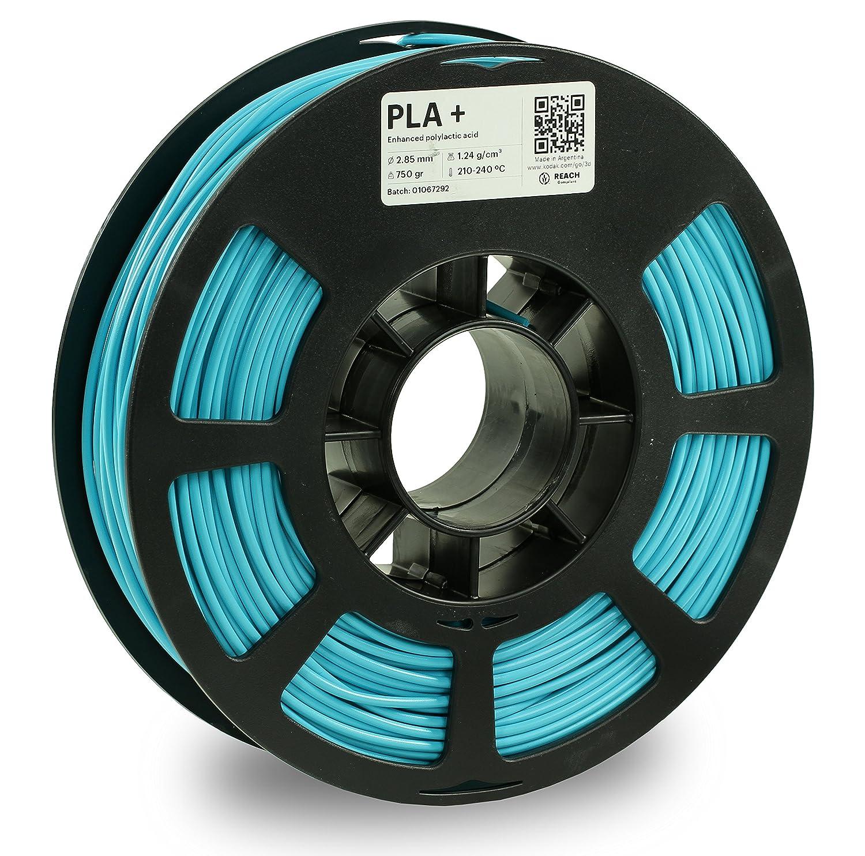KODAK PLA Plus 3D Printer Filament, 2.85mm +/- 0.02 mm, 750g (1.7lbs) Spool, Light Blue