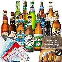 Biere Welt & Deutschland Geschenkbox mit Bier (12x Welt u. DEU)
