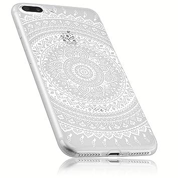6f2fbce83bc641 mumbi Schutzhülle für iPhone 8 Plus / 7 Plus Hülle im Mandala Design