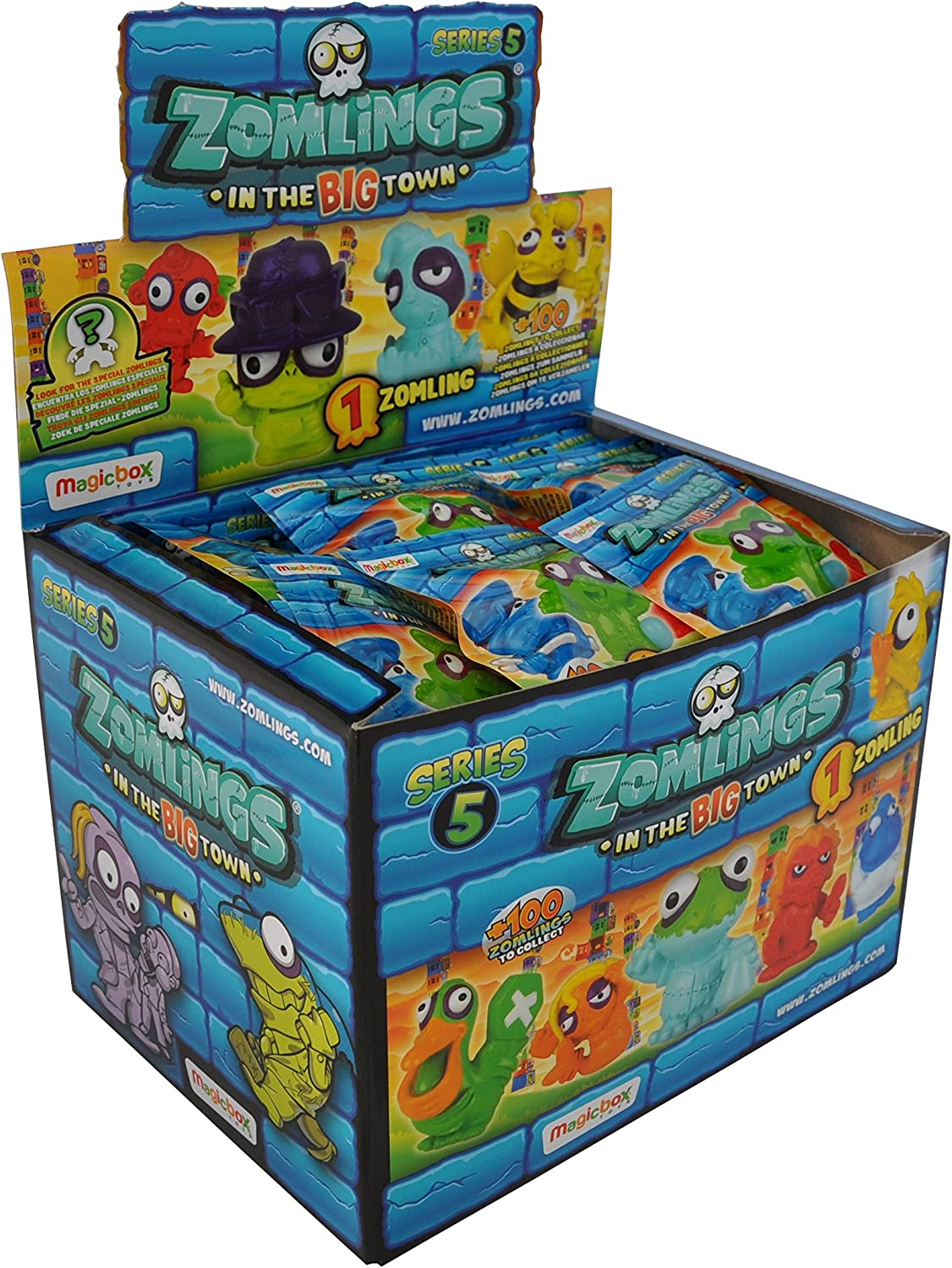 Magicbox - Zomlings in the BIG town, Serie 5 (Caja de 50 sobres ...