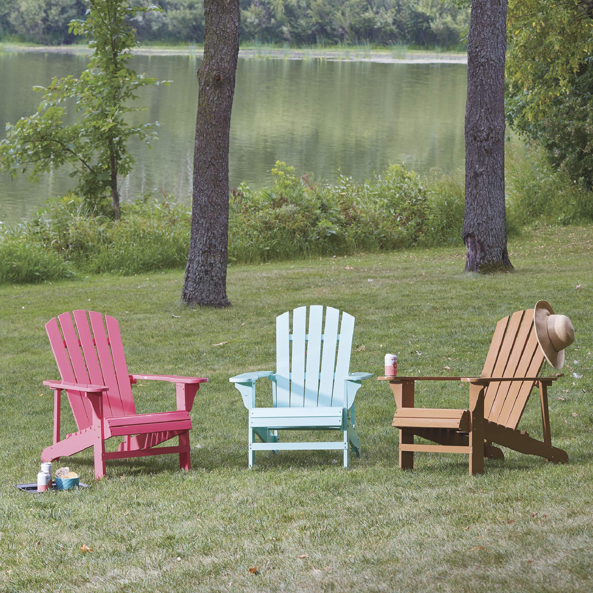 Leigh Country Adirondack Chair, Seafoam by Leigh Country
