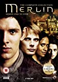 Merlin - The Complete Collection - Series 1-5 [DVD] [2008] [Reino Unido]