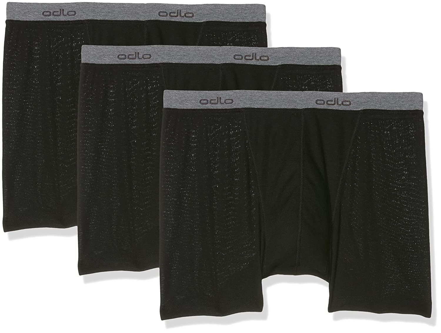 Odlo Men鈥瞫 Boxer shorts Light 3 Pack 192302-15000
