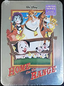 Home On The Range Limited Series Collectible Tin - Walt Disney